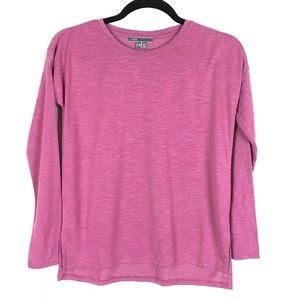 Vince Pink Purple 3/4 Sleeve Top Size L